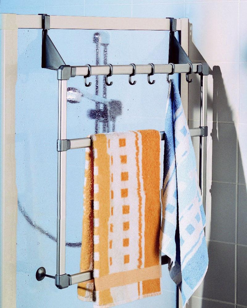 RUCO Handtuchhalter Türhandtuchhalter mit 3 Stangen auch