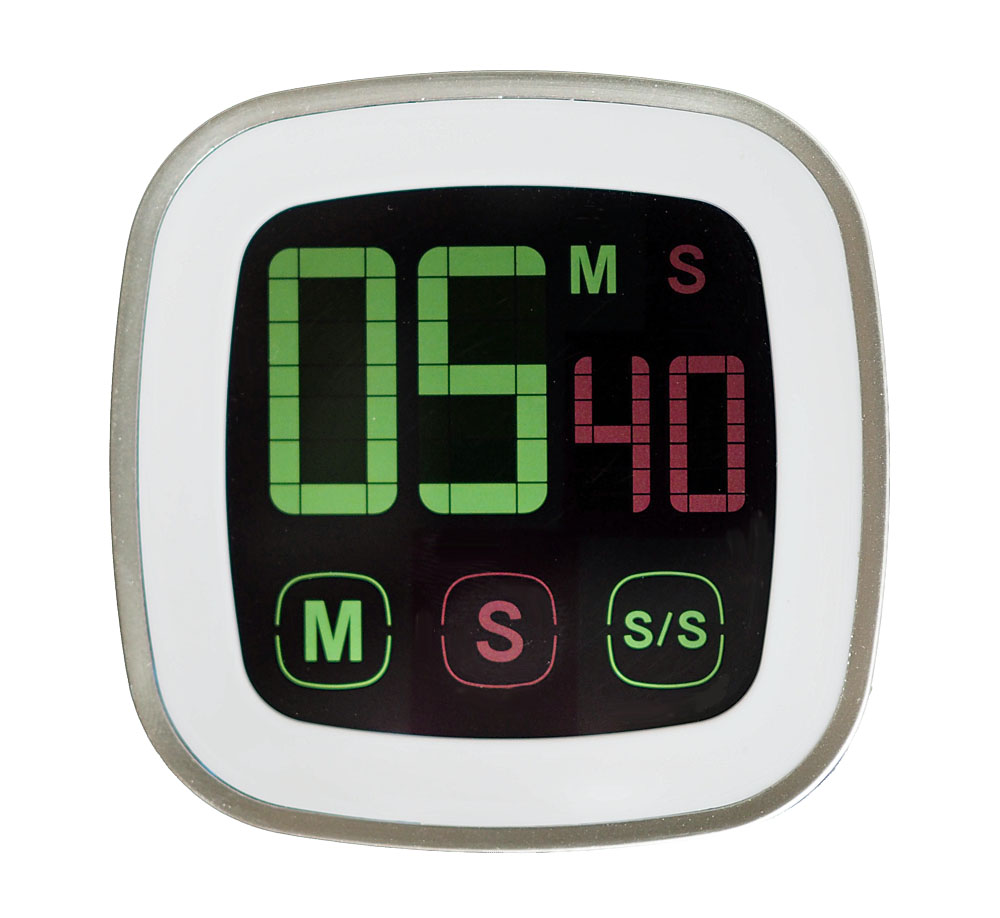Küchentimer Timer Kurzzeitmesser Eieruhr mit Magnet und Touchscreen ...